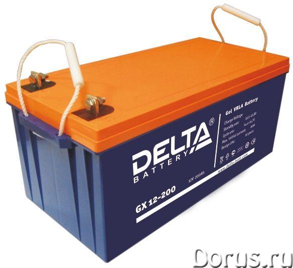 Аккумулятор DELTA GX 12-200 гелевый - Прочая техника - Свинцово-кислотные аккумуляторные батареи DEL..., фото 1