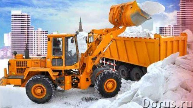 Фронтальные погрузчики и самосвалы - вывоз мусора и снега с вашего участка - Сельхоз и спецтехника -..., фото 1