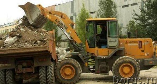 Фронтальные погрузчики и самосвалы - вывоз мусора и снега с вашего участка - Сельхоз и спецтехника -..., фото 3