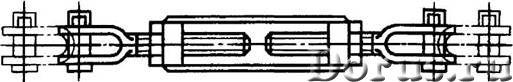 Талреп (исполнение ВВ) - Запчасти и аксессуары - Продажа Талреп ОС-ВВ - сварной Талрепов типа ОС - и..., фото 1