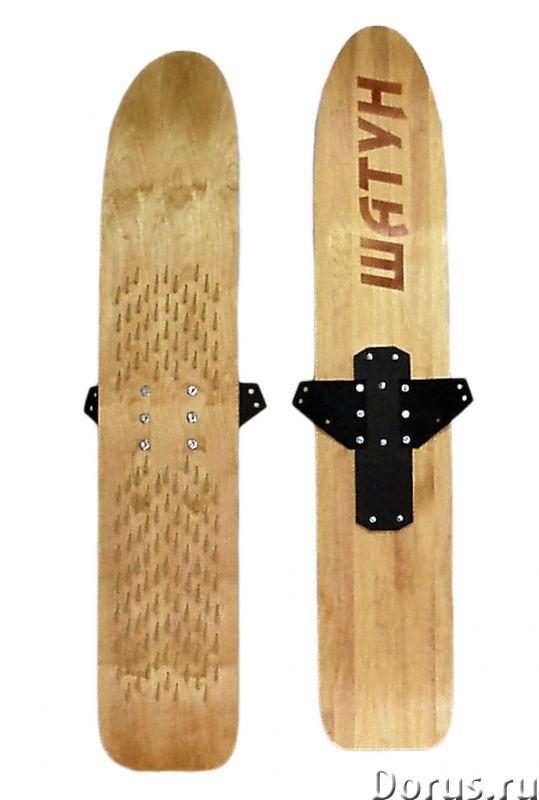 Охотничьи лыжи для любителей езды на снегоходах - Охота и рыбалка - Лыжи под камус для профессиональ..., фото 2