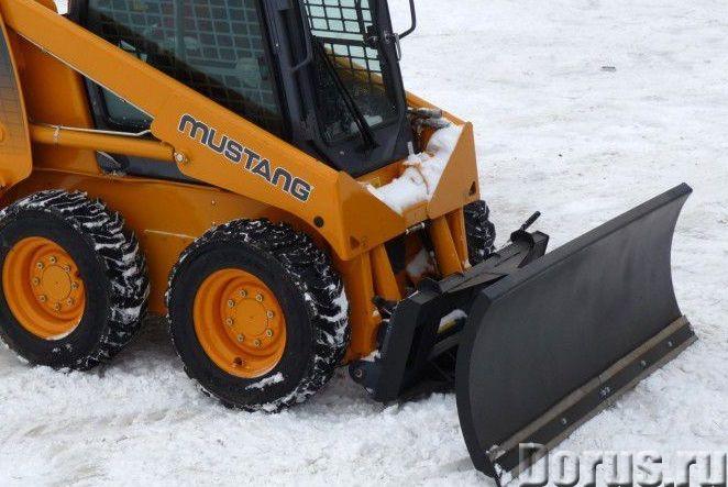 Отвал снегоуборочный для мини-погрузчика - Запчасти и аксессуары - Отвал снегоуборочный для мини-пог..., фото 1