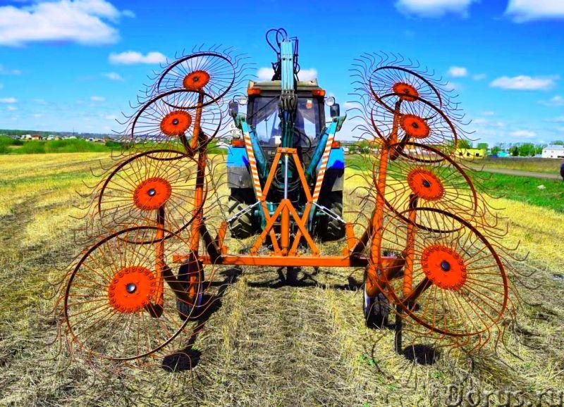 Грабли ворошилки валковые ГВВ - 6.0 - Сельхоз и спецтехника - Грабли ворошилки валковые, для сгребан..., фото 1